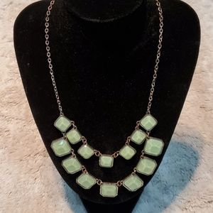 Boutique Sea Foam Green Fashion Necklace